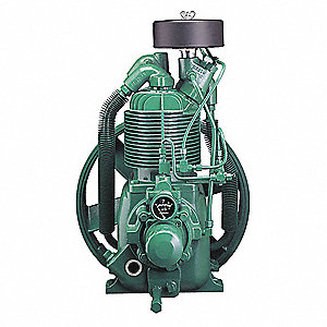 2-Stage Pressure Lubricated Air Compressor Pump with 2 qt. Oil Capacity