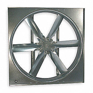 "20""-Dia. Standard-Duty Supply Fan w/Drive Package, Totally Enclosed NonventilatedMotor Enclosure"