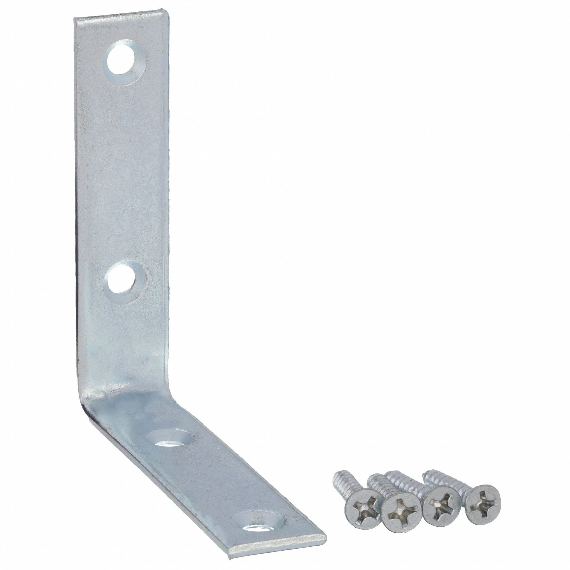 Corner Brace,Steel,5/8 Wx2 1/2 In L