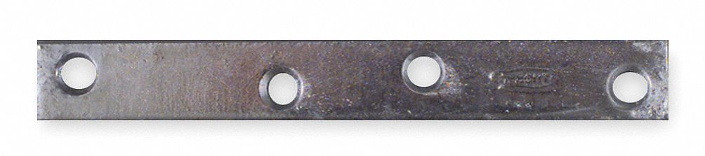 "5 in"" x 1 in"" Steel Mending Plate with Galvanized Finish"