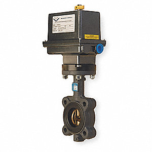 Butterfly Valve,Electronic,2 In NPT