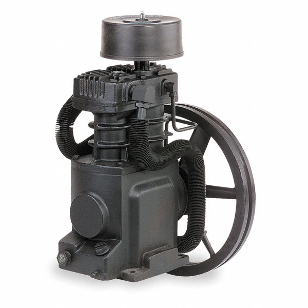 Ingersoll rand 2 stage splash lubricated air compressor for Air compressor pump and motor replacement