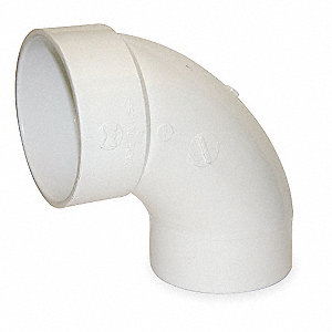 Street Elbow,90 Deg,PVC,4 In,Hub x S