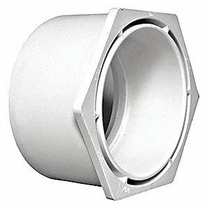 FLUSH BUSHING,PVC,3 X 2 IN,1500 PSI