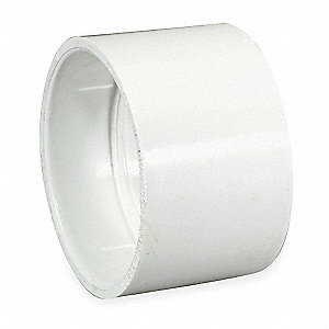 "PVC Coupling, Hub, 1-1/4"" Pipe Size - Pipe Fitting"