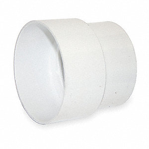 ADAPTER COUPLING,PVC,4 X 3 IN,1500