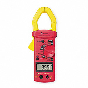 "Clamp On Digital Clamp Meter, 1-5/8"" Jaw Capacity, CAT III 300V"