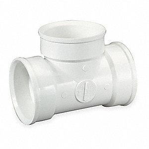 VENT TEE,PVC,1 1/2 IN,1500 PSI,140