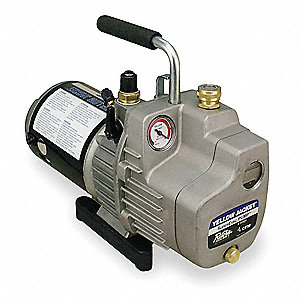 Refrig Evacuation Pump,6.0 cfm,8 ft.