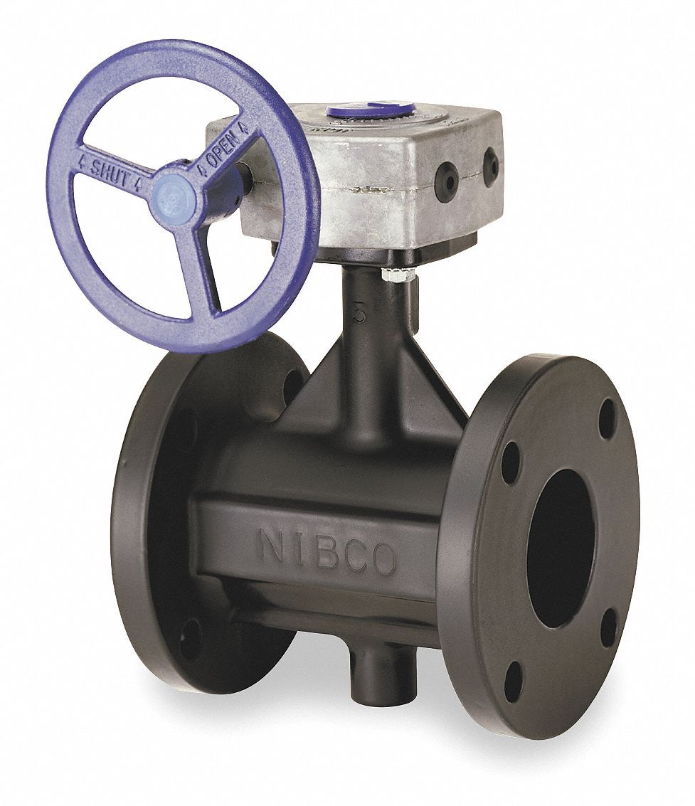 Flanged-Style Butterfly Valve Cast Iron ASTM A126 Val-matic 150 psi 2006//1B08AK 6 Pipe Size