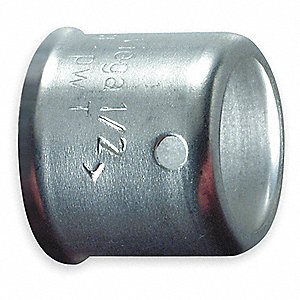 "Stainless Steel Sleeve, PEX Connection Type, 1/2"" PEX Size"