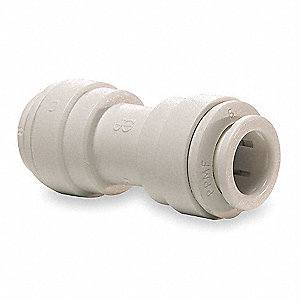"Polypropylene Union Adapter, 3/8"" Tube Size"