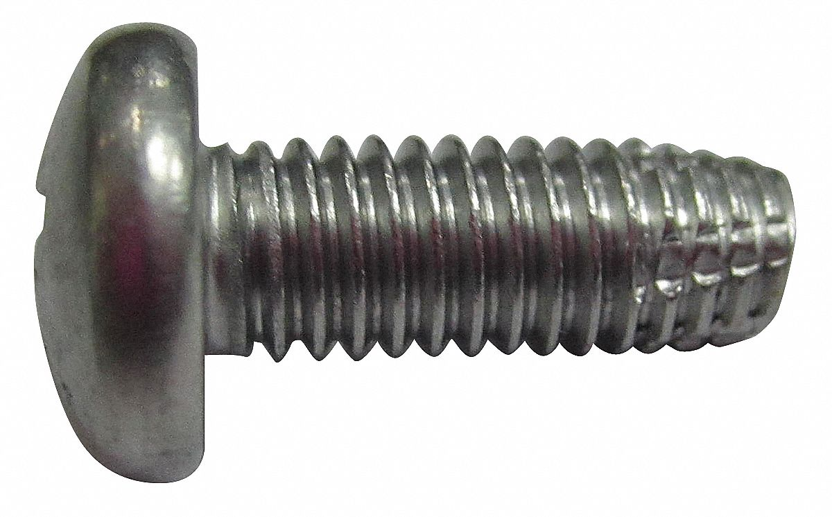 Pack of 10 Black Oxide Finish 5//16-18 Thread Size 1 Length Type F Hex Washer Head Steel Thread Cutting Screw