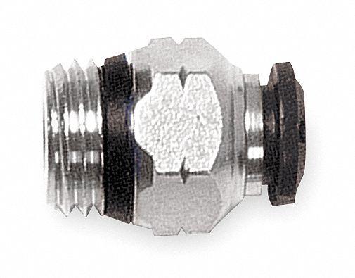 90/° 50110N-10-3//8-PK3-1 Each Aignep Usa 10mm Metal Swivel Elbow