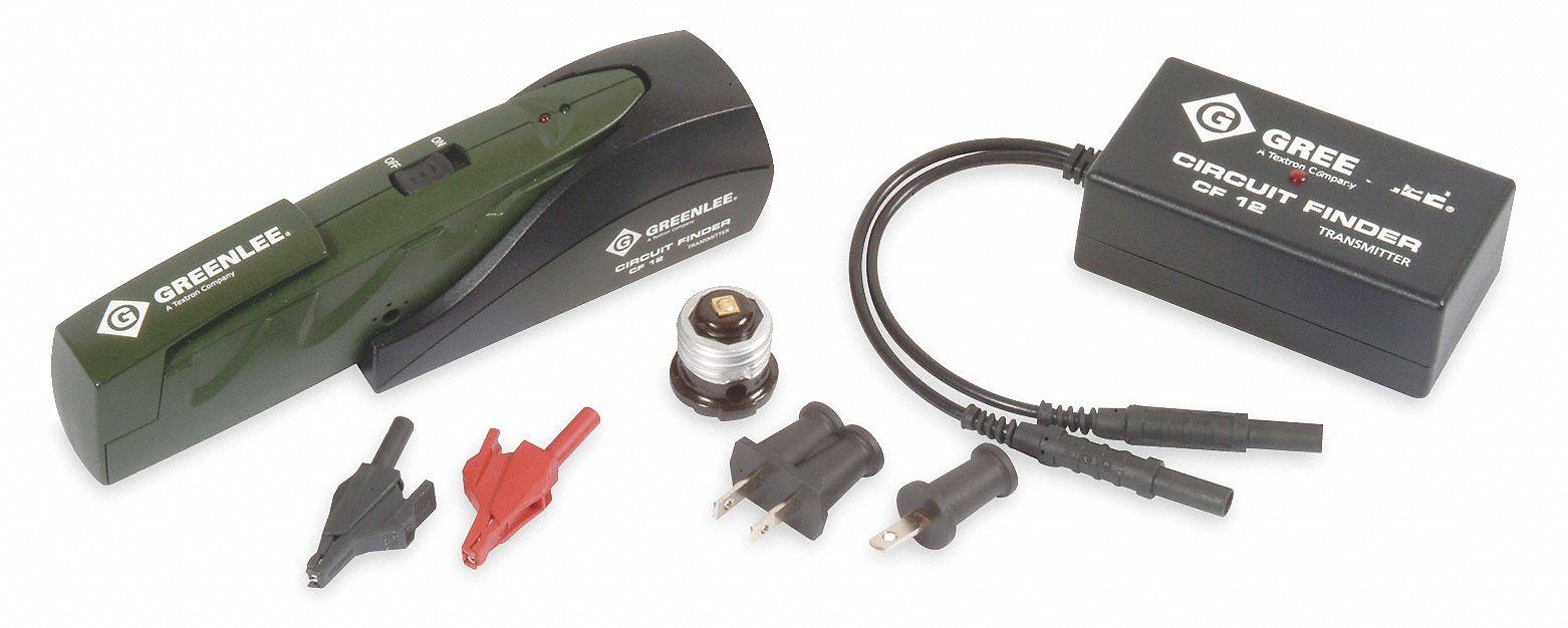 Greenlee Crct Brkr Finder Kit 80 To 277vac Enrgzd 1wvl7 Cs 2072k Testers Circuit Breaker Identifier Grainger