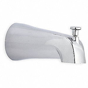 Chrome Tub Diverter Spout Tub Spouts, For Use With Kitchen Faucets and Tub&Shower