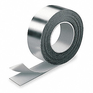 "65 ft. x 2"" Aluminum Pipe Insulation Tape, -40° to 220°F, Silver"