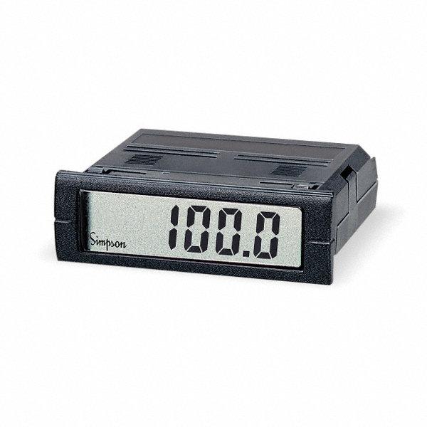 Simpson Digital Panel Meters : Simpson electric digital panel meter dc voltage