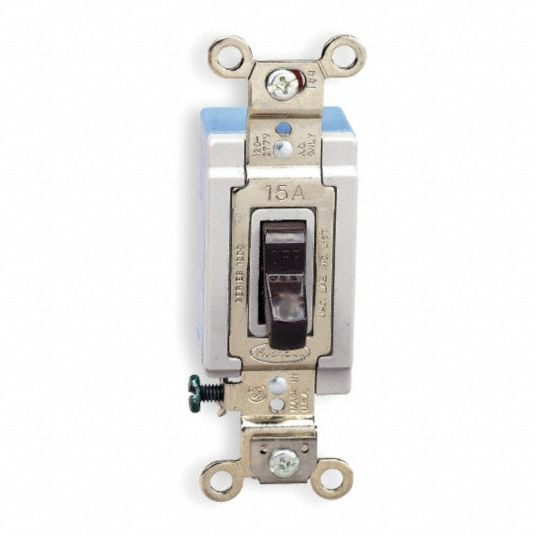 Hubbell Wiring Device Kellems Wall Switch 4 Way Maintained Toggle 5z720 Hbl1204 Grainger