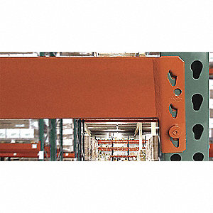 "Orange Teardrop Step Beam 5""H x 108""W x 2-3/4""D"