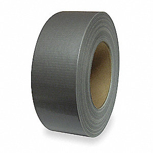 "Industrial Duct Tape, 2"" X 60 yd., 9.00 mil Thick, Metallic Coated Cloth, 1 EA"