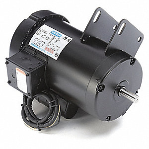 4 HP Table Saw Motor,Capacitor-Start,3450 Nameplate RPM,230 Voltage,Frame 145Y