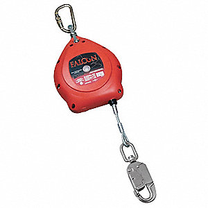 20 ft. Self-Retracting Lifeline with 310 lb. Weight Capacity, Red