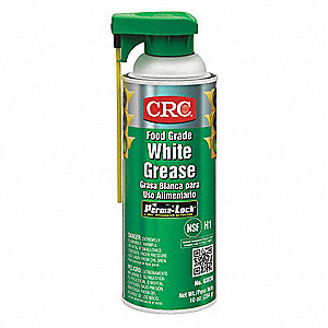 White Multipurpose Grease, 16 oz., NLGI Grade: 2