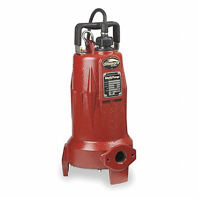 1XGC6 - Grinder Pump 2 HP 208-230 Voltage