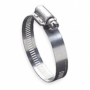 300 Stainless Steel Quick Release Worm Gear Hose Clamp&#x3b; PK10