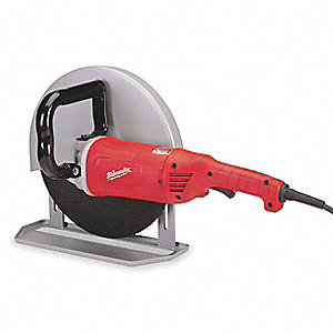 "4.8 HP Handheld Cutoff Saw, 14"" Blade Dia., 1"" Arbor Size, Voltage: 120"