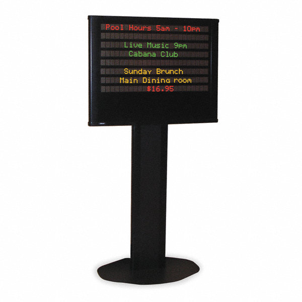 Adaptive Micro Systems Message Display Sign 1xhp2