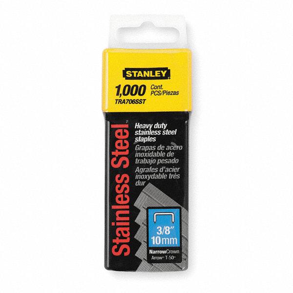 stanley narrow staples ss 7 16x3 8 pk1000 1xht9
