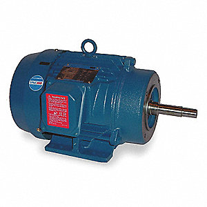 3 HP Close-Coupled Pump Motor,3520 Nameplate RPM,230/460 Voltage,182JM
