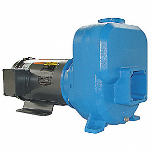 CENTRIFUGAL PUMP,SELF PRIMING,5 HP