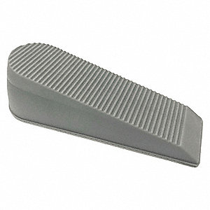 Door Wedge Rubber Gray 6  Length 1-13/16  sc 1 st  Grainger : wedge door - Pezcame.Com