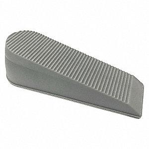 Door Wedge Rubber Gray 6  Length 1-13/16  sc 1 st  Grainger & GRAINGER APPROVED Door Wedge Rubber Gray 6