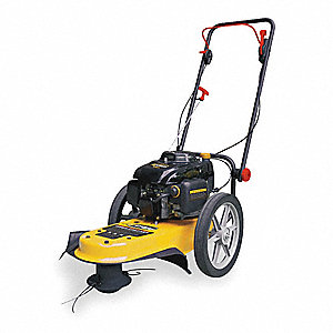"Field Trimmer, 22"" Cutting Width, Engine Displacement: 160cc, Drive Type: Push"