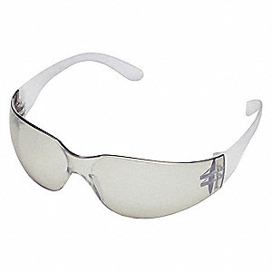 Condor  V Scratch-Resistant Safety Glasses, Indoor/Outdoor Lens Color