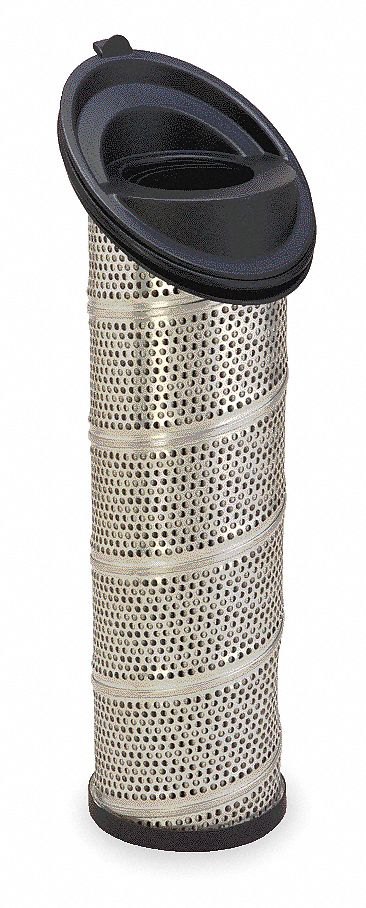 Fiberglass Hydraulic Filter Element,  10 Micron Rating,  Primary Filter Removes Contaminants