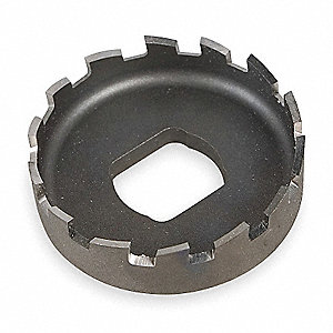 Hole Cutter,1 3/8 In Dia,HSS,3/8 In Hex