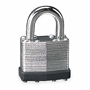 "Keyed Padlock,Different,1-9/16""W"