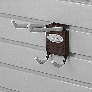 Slat Wall Utility Hook,Steel,PK6