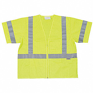 Polyester High Visibility Vest, Class 3