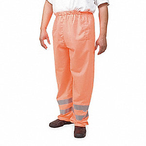 Over Pants,Hi Vis Orng,Size 52 to 54x34