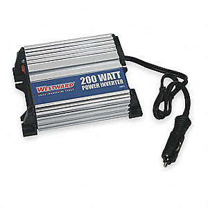 Inverter,115VAC,13.8VDC,200W,1-Outlet