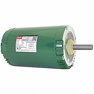 1 HP Agricultural Fan Motor,3-Phase,850 Nameplate RPM,440-