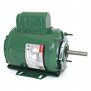 DAYTON 1/3 HP Agricultural Fan Motor,Permanent Split Capacitor,1700 Nameplate RPM,115/230 Voltage - 1YAZ5|1YAZ5 - Grainger