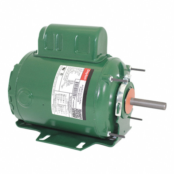 Dayton 1 2 hp agriculural direct drive fan motor permanent for Dayton direct drive fan motor