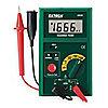 Megómetro Operador por Batería, Digital LCD, Rango de Resistencia al Aislamiento: 0.1 a 2000M